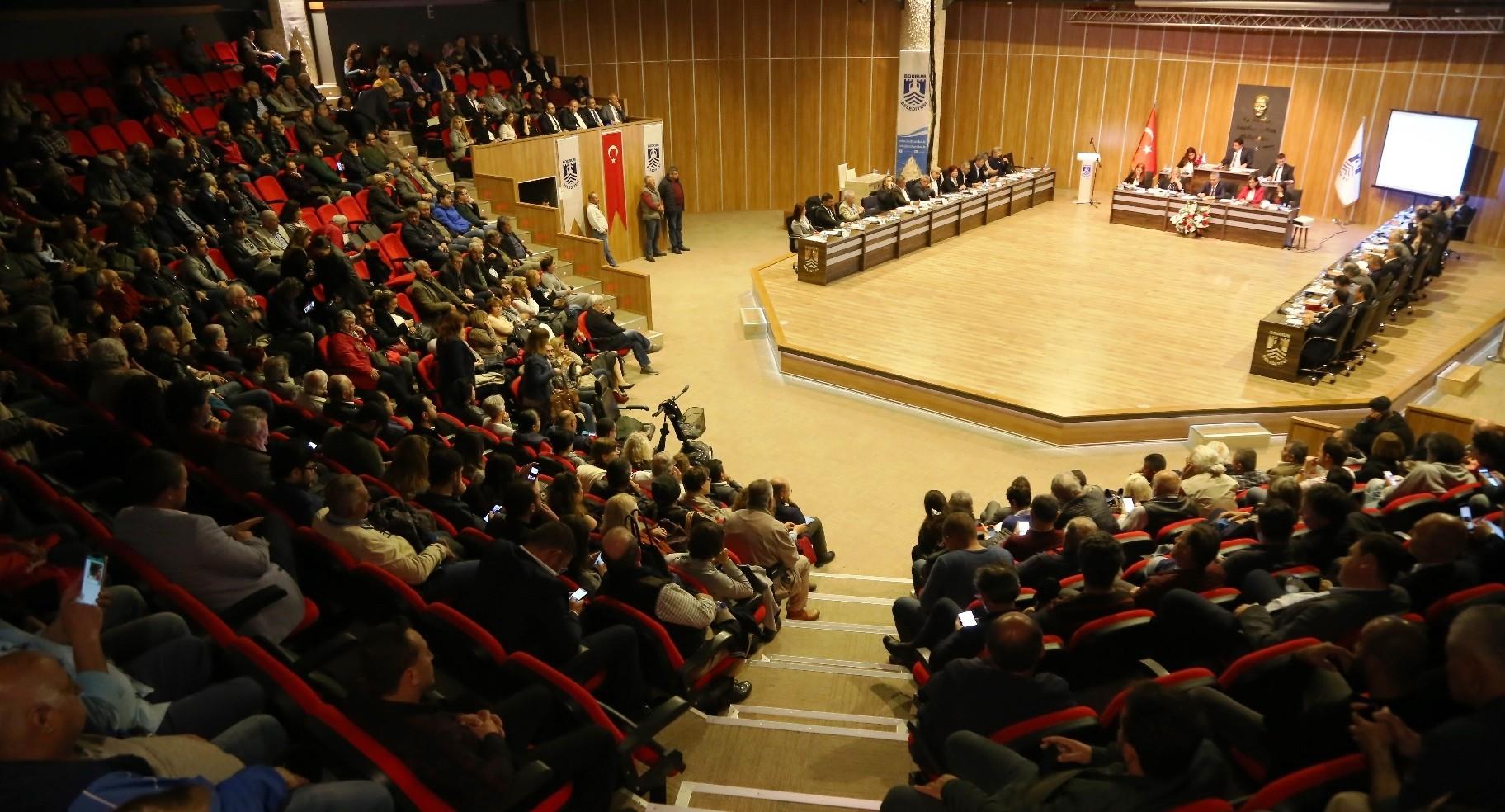 ahmet aras BODRUM'U YÖNETECEK KOMİSYONLAR BELİRLENDİ… bodrum belediyesi nisan ay   meclis toplantisi 2
