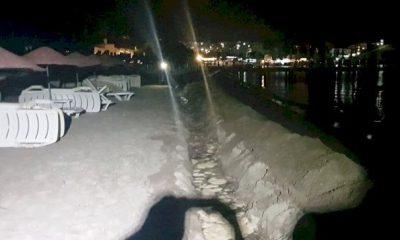 karaincir plajı GECE YARISI KAÇAK TESİSAT ÇEKMEK İSTEDİLER… KARA  NC  R KACAK KAZ   400x240