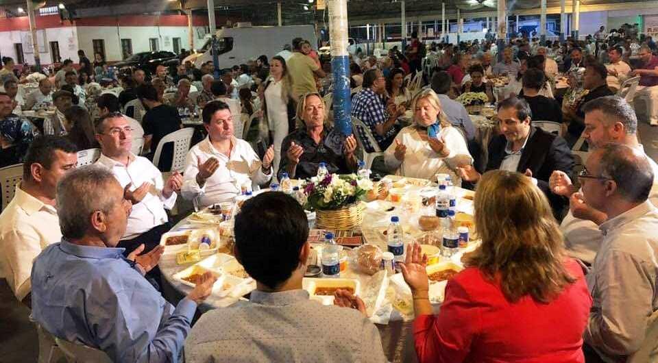 ömer özmen AK PARTİ İFTAR YEMEĞİNDE HOŞGÖRÜ VE BİRLİKTELİK VARDI… ak parti bodrum iftar yemegi 2