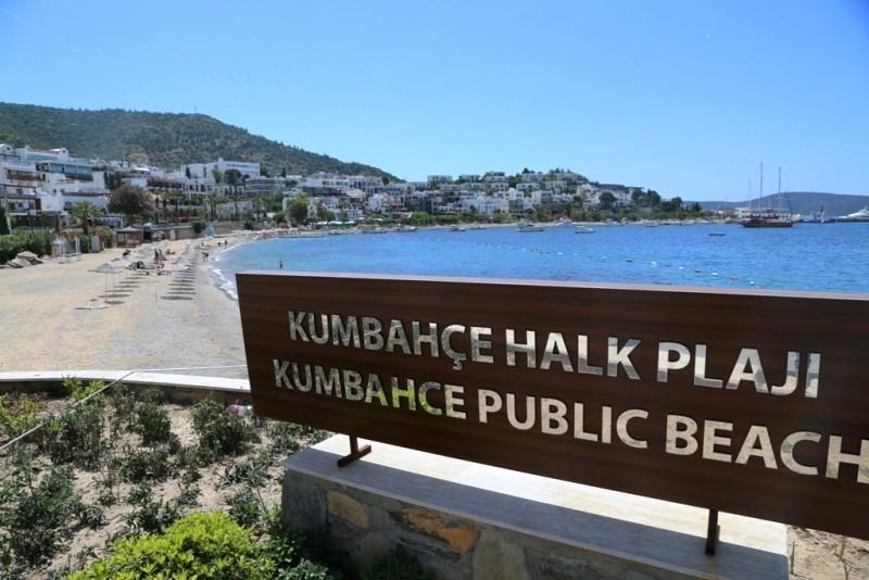 .bodrum belediyesi BAŞKAN ARAS'DAN HALK PLAJLARINA DÜZENLEME… belediye plajlar   d  zenleniyor 1