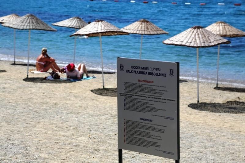 .bodrum belediyesi BAŞKAN ARAS'DAN HALK PLAJLARINA DÜZENLEME… belediye plajlar   d  zenleniyor 19