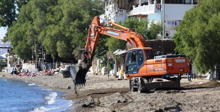 .bodrum belediyesi BAŞKAN ARAS'DAN HALK PLAJLARINA DÜZENLEME… belediye plajlar   d  zenleniyor 6