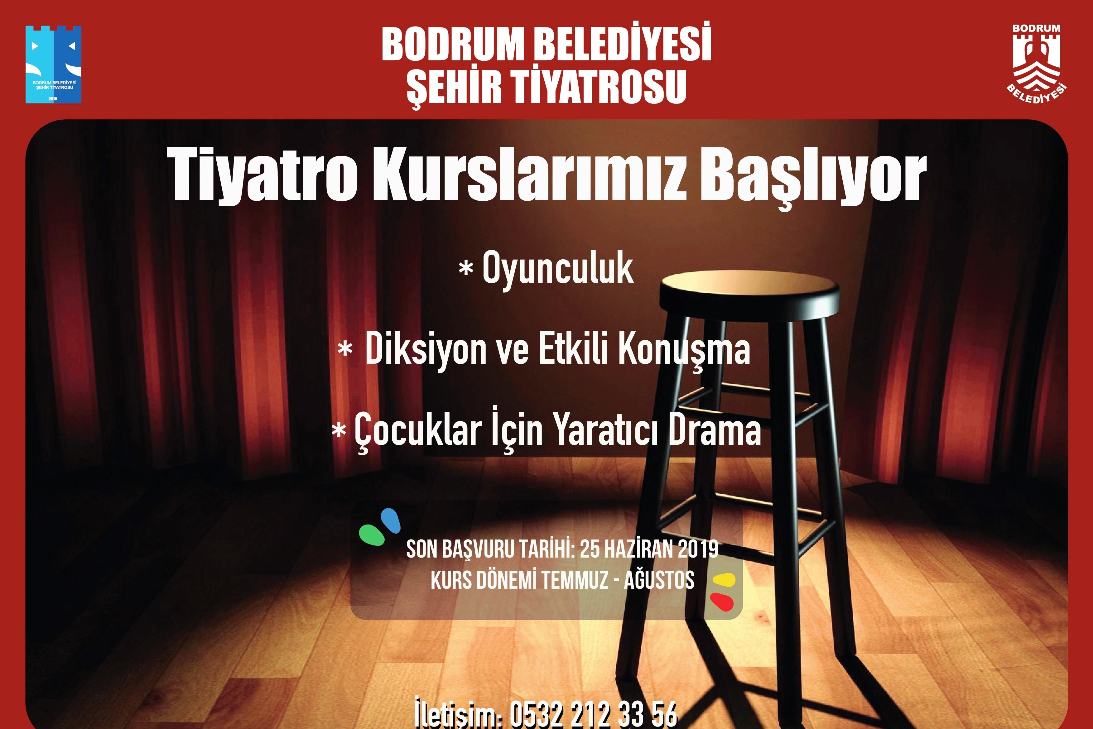 bodrum şehir tiyatrosu BODRUM ŞEHİR TİYATROSU KURSLARI BAŞLIYOR… bodrum sehir tiyatrosu kurslari