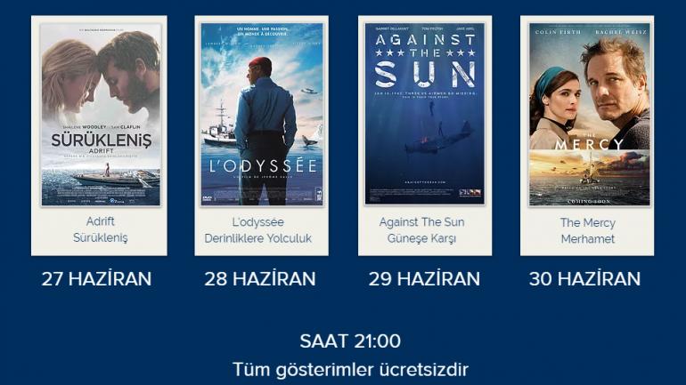 """D-MARİN """"DENİZ FİLMLERİ FESTİVALİ"""" İLE İYİ SEYİRLER…"""