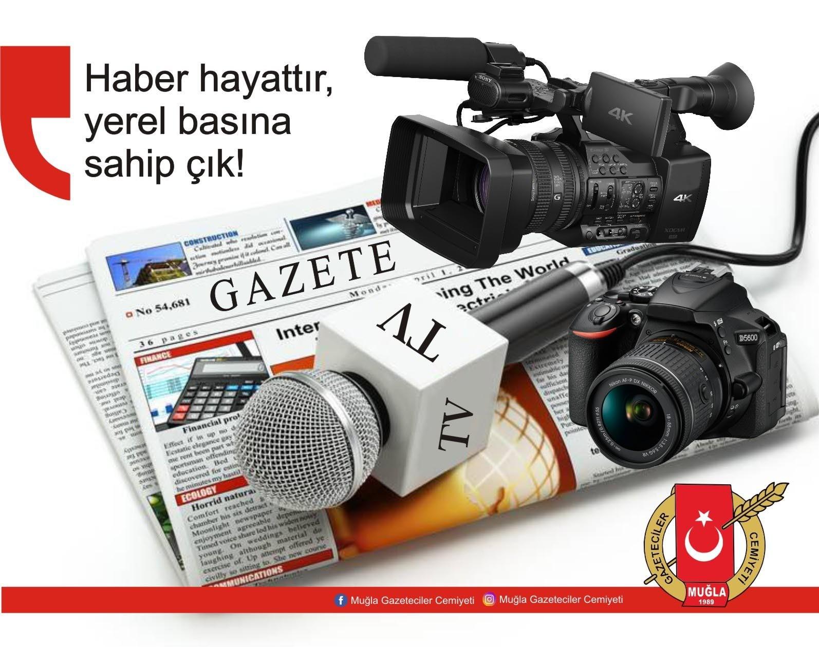 """muğla gazeteciler cemiyeti HABER HAYATTIR… """"YEREL BASINA SAHİP ÇIK!"""" mgc yerel bas  na sahip cik"""