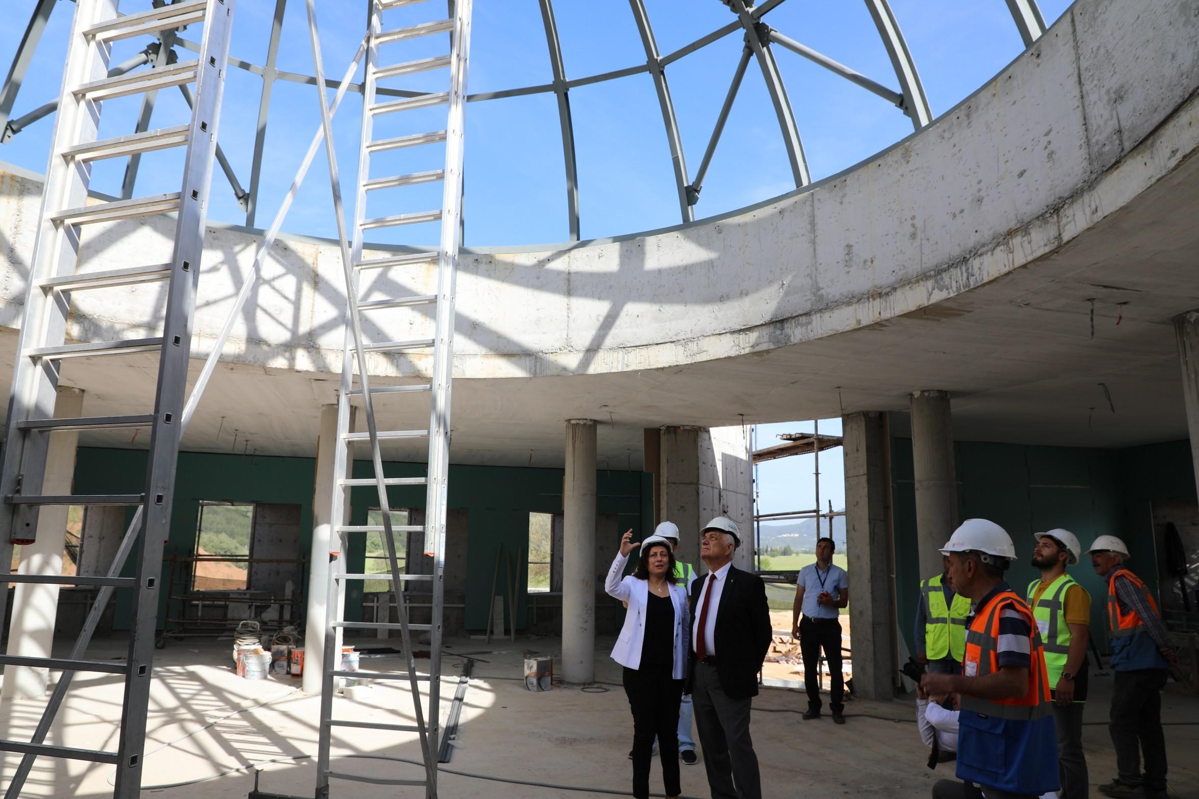 muğla bölge müzesi BÖLGE MÜZESİ YAZ SONUNDA HİZMETE GİRECEK… mugla bolge muzesi tamalaniyor 1