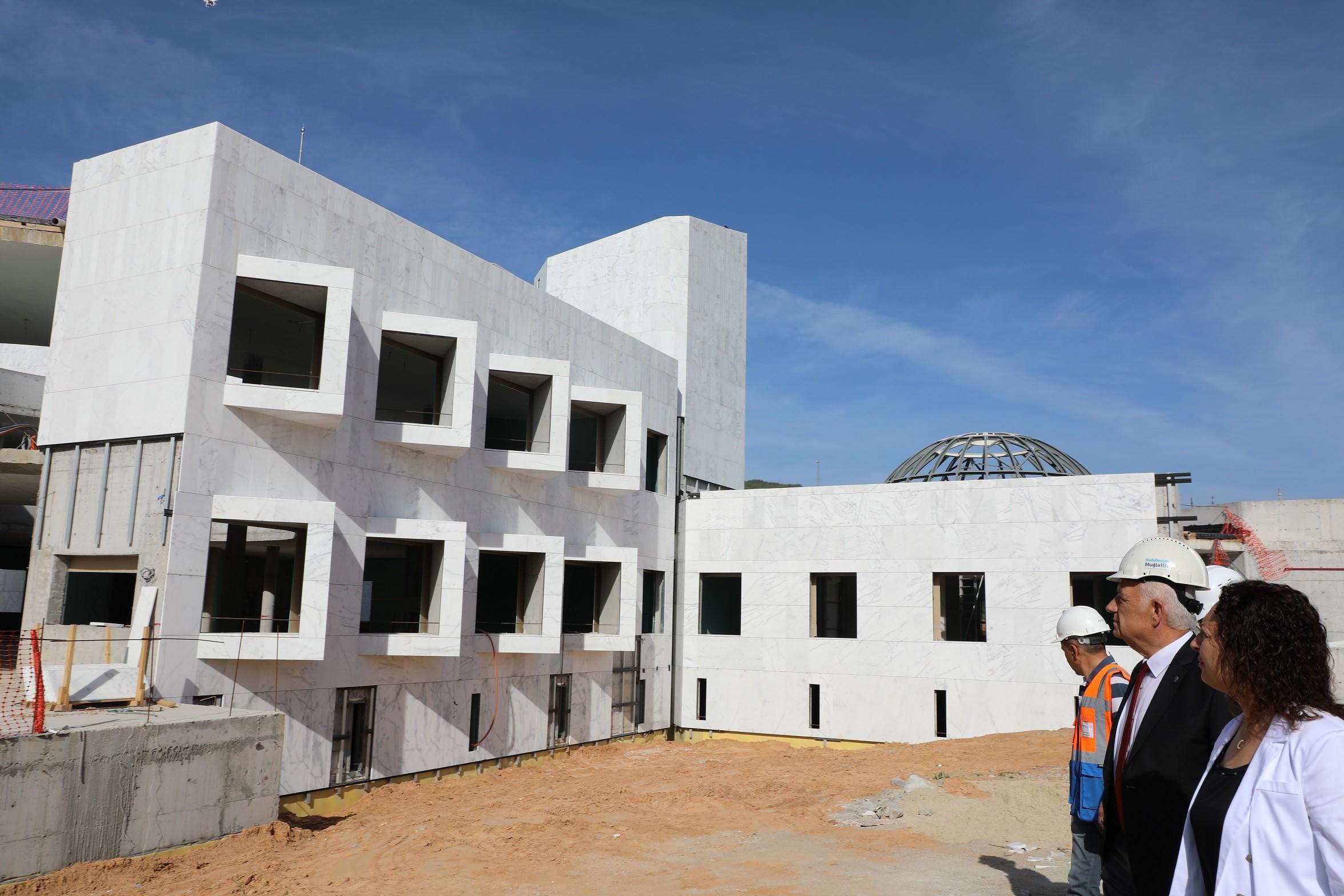 muğla bölge müzesi BÖLGE MÜZESİ YAZ SONUNDA HİZMETE GİRECEK… mugla bolge muzesi tamalaniyor 2