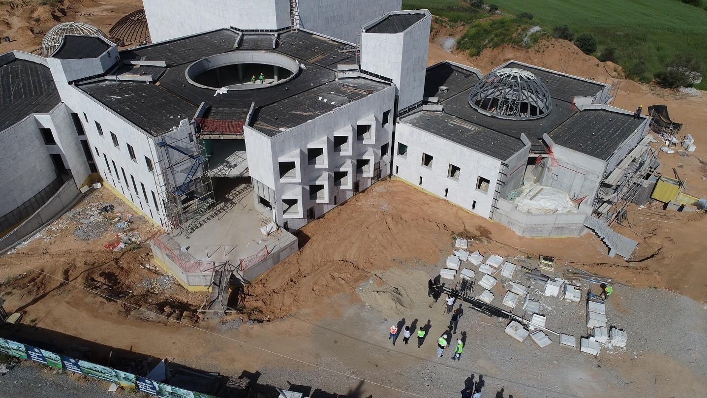 muğla bölge müzesi BÖLGE MÜZESİ YAZ SONUNDA HİZMETE GİRECEK… mugla bolge muzesi tamalaniyor 3
