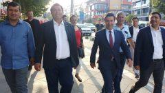 BAŞKAN ARAS İSTANBUL'DA DESTEK VERDİ, DESTEK ALDI…