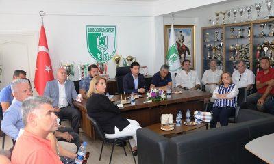 bodrum belediyesi BODRUMSPOR BAŞKAN ARAS'A SUNUM YAPTI… bodrumspor sunum yapt   7 400x240