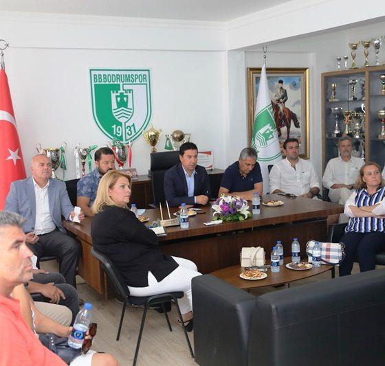 bodrum belediyesi BODRUMSPOR BAŞKAN ARAS'A SUNUM YAPTI… bodrumspor sunum yapt   7 560x533