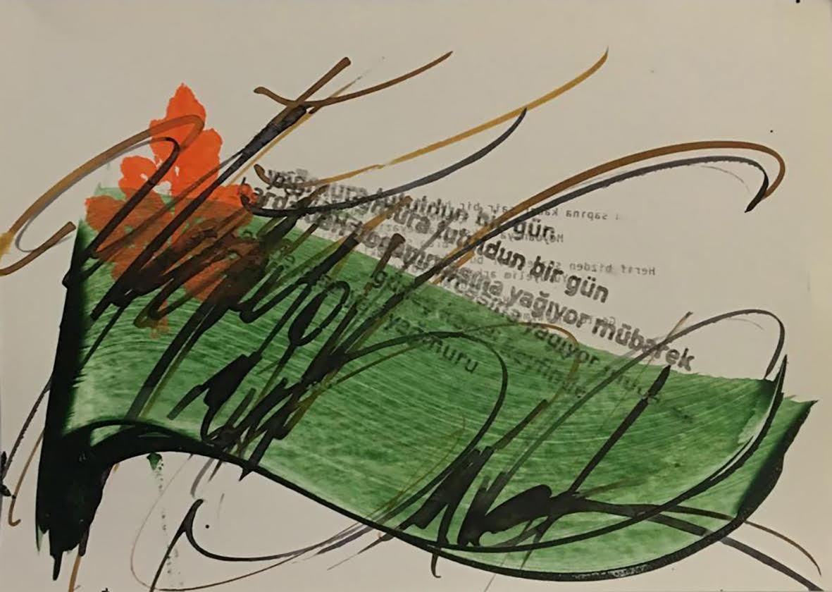 """kenan temizel """"3 CALLIGRAPHERS"""" SERGİSİ DİBEKLİHAN'DA… dibeklihan kaligrafi sergisi 3"""