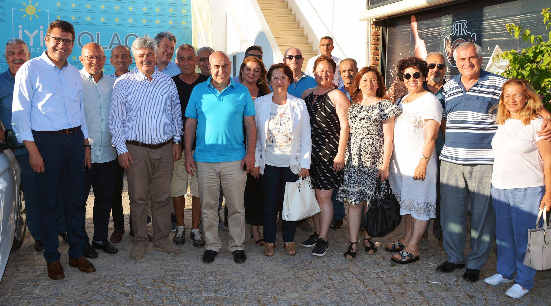 mehmet tosun İYİ PARTİ BODRUM'DA BAYRAMLAŞTI… iyi parti bodrum bayramlasma 3