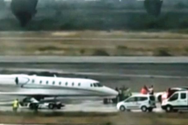 milas bodrum havalimanı MİLAS-BODRUM HAVA LİMANINDA TEHLİKELİ DAKİKALAR… milas havaliman  nda kaza