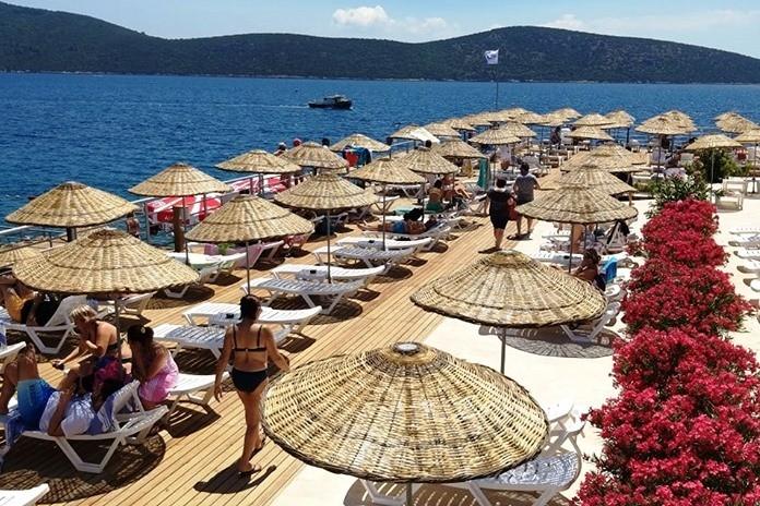 kültür ve turizm bakanlığı BAKANLIK PLAJINDA ŞEZLONG ARTIK ÜCRETLİ… tavsanburnu halk plaji 1