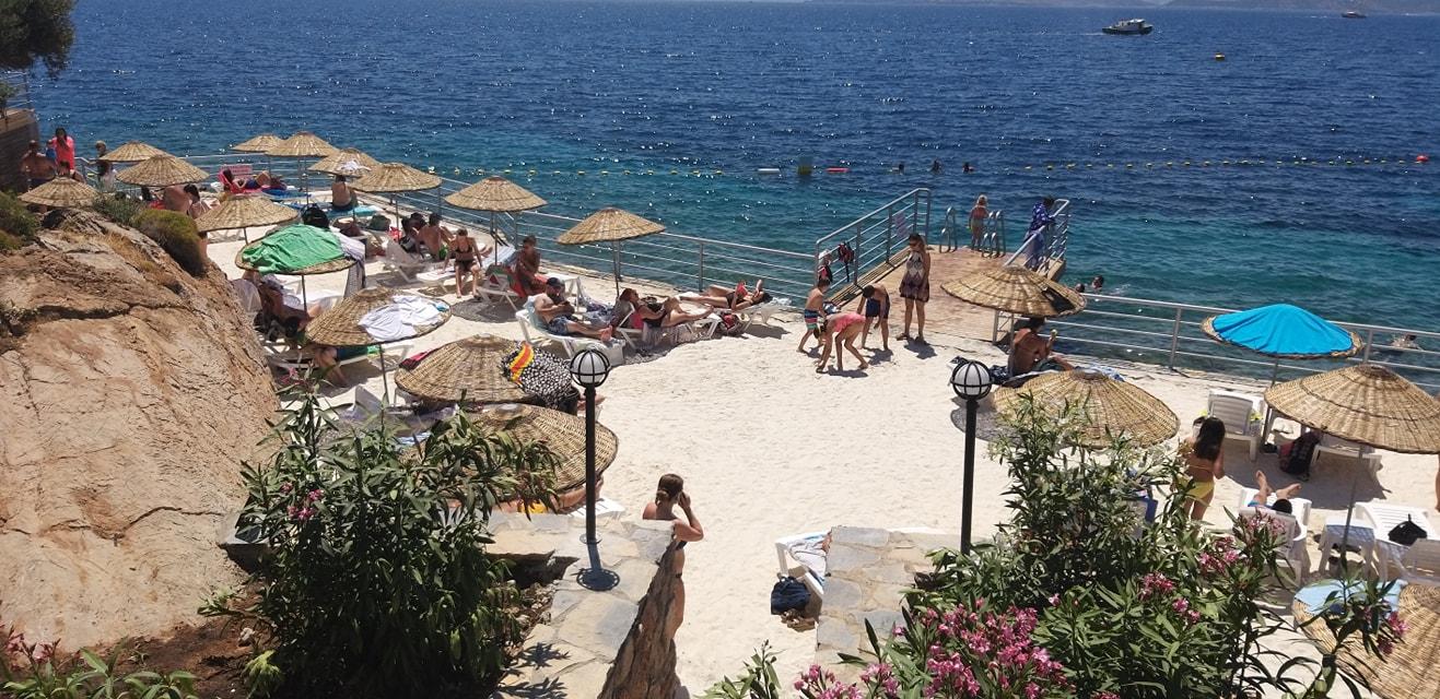kültür turizm bakanlığı bodrum plajı BAKANLIĞIN PLAJINA VATANDAŞTAN YOĞUN İLGİ… tavsanburnu halk plaji 2