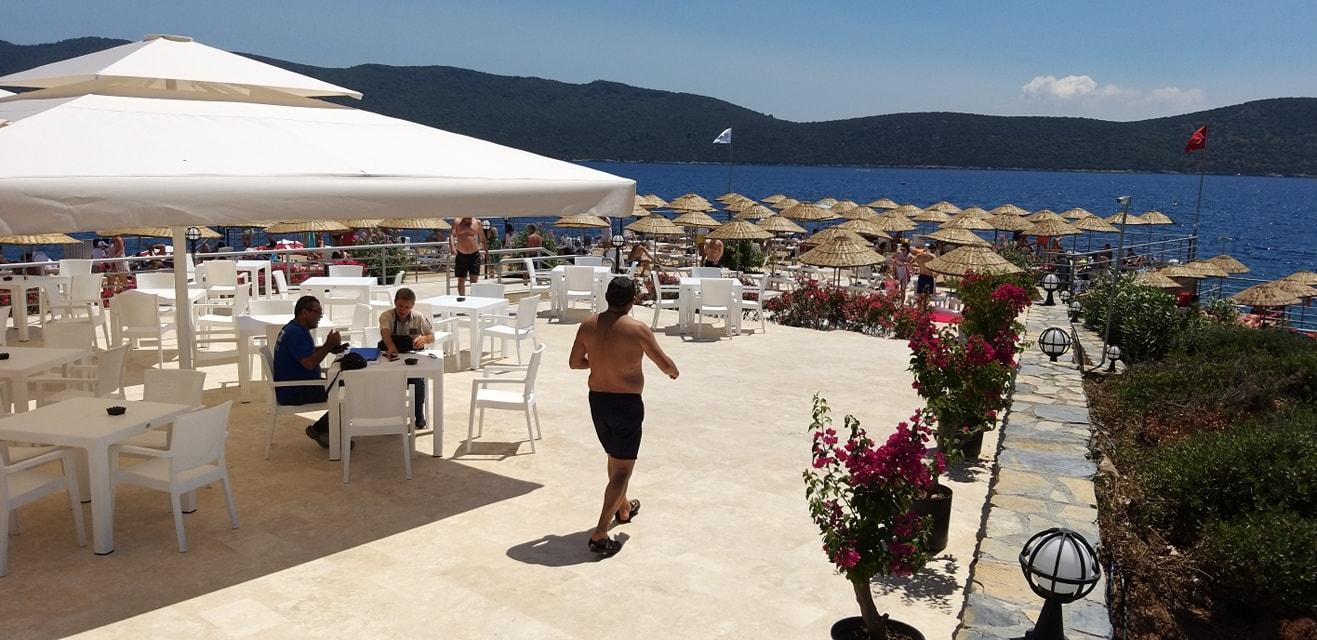 kültür turizm bakanlığı bodrum plajı BAKANLIĞIN PLAJINA VATANDAŞTAN YOĞUN İLGİ… tavsanburnu halk plaji 3