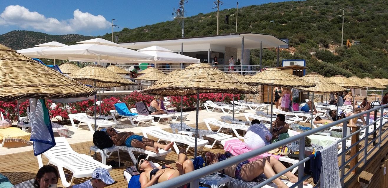 kültür turizm bakanlığı bodrum plajı BAKANLIĞIN PLAJINA VATANDAŞTAN YOĞUN İLGİ… tavsanburnu halk plaji 4