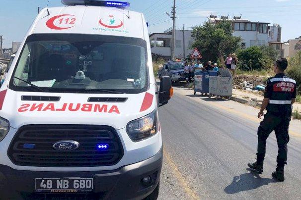 112 acİl saĞlik bodrum NE BİLEYİM HASTAYA GİTTİĞİNİZİ… turgutreis kaza 1
