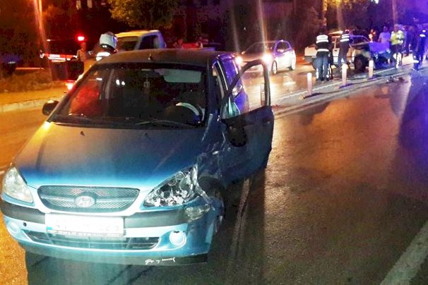 turgutreis kaza BODRUM'DA İKİ ARAÇ ÇARPIŞTI, 9 YARALI… turgutreis kaza