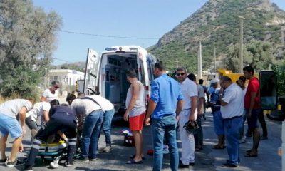 kaza, MOTORSİKLET KAZASI SÜRÜCÜNÜN DURUMU AĞIR… yal  kavak motor kazas   400x240