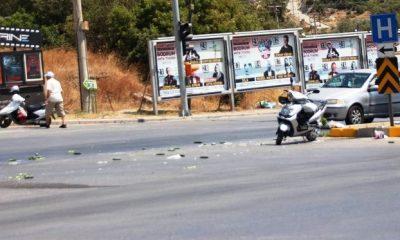 bodrum kaza KIRMIZI IŞIKTA DURAN MOTOSİKLETE ÇARPTI… bodrum kaza 1 1 400x240