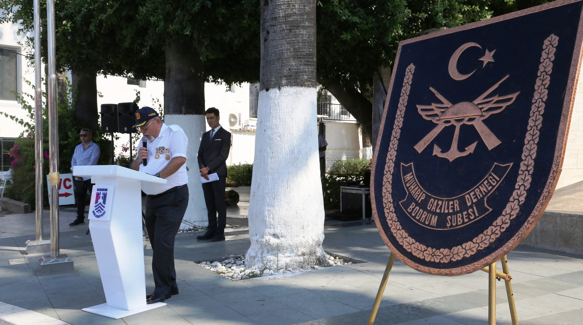 bodrumlu gaziler KIBRIS ŞEHİTLERİ, HAREKATIN 45'İNCİ YILINDA ANILDI… k  br  s harekati 45 yil 3