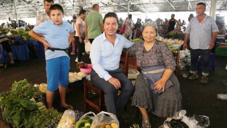 Bodrum pazar yerlerinin kura çekimi Şubat ayında…