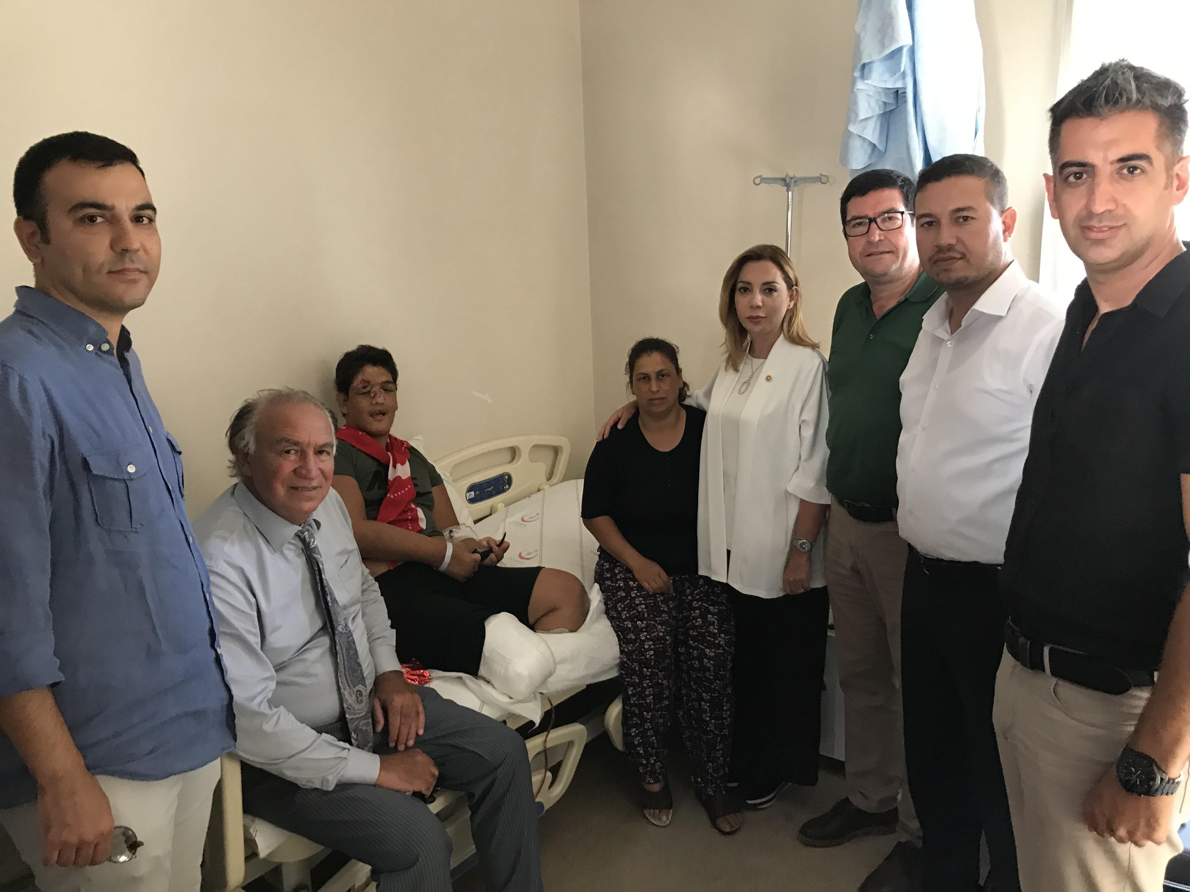 milas organize sanayi bölgesi MUĞLA'NIN İLK ORGANİZE SANAYİ BÖLGESİ MİLAS'TA HAYATA GEÇİYOR… Engelli gence ziyaret