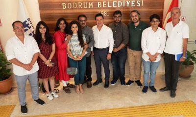 eni delhi kültür ve tanıtma müşavirliği BODRUM'DA HİNT DÜĞÜNÜ İÇİN YER BAKIYORLAR… hintli gazeteciler ba  kan aras   ziyaret etti 400x240