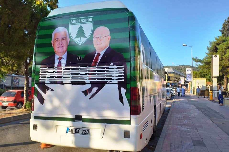 tahir Ünsal MUĞLASPOR'UN OTOBÜS GİYDİRMESİ İSTİFA GETİRDİ… muglaspor otobus