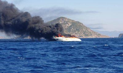 turgutreis tekne yanıyor TURGUTREİS AÇIKLARINDA YANAN TEKNEYE MÜDAHALE EDİLMEYE ÇALIŞILIYOR… turgutreis deniz kazasi 1 400x240