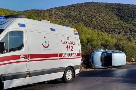 kızılağaç kaza TELEFONU ELİNDEN DÜŞÜRÜNCE… bodrum kizilagac kaza