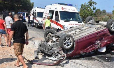 DİREKSİYON HAKİMİYETİNİ KAYBEDİNCE DEVRİLDİ… guvercinlik kaza 1 400x240