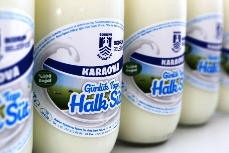 bodrum belediyesi halk süt HALK SÜT TAMAM… SIRADA YOĞURT, KAYMAK VE PEYNİR VAR… karaova halk sut 1