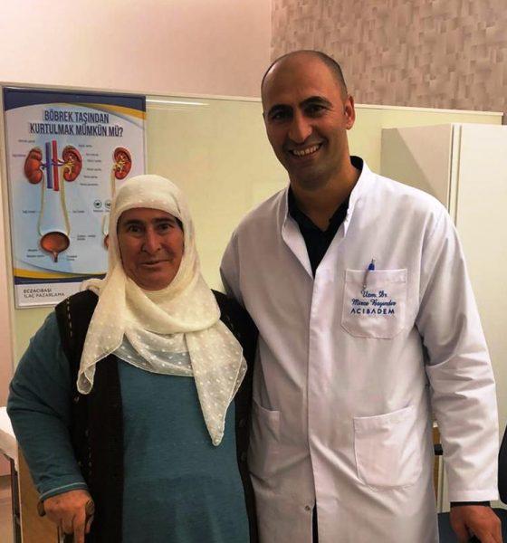 acıbadem hastanesi İLK KEZ YAPILAN YÖNTEMLE 6 CM'LİK BÖBREK TÜMÖRÜNDEN KURTULDU… Dr Mirze Bay  nd  r Gulizar Ko   560x600