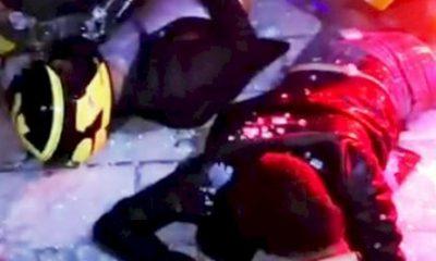 bodrum kaza VİRAJI ALAMAYINCA İŞYERİNE GİRDİLER… bodrum kaza 400x240