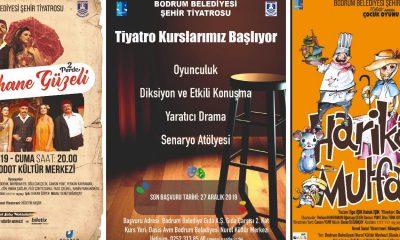 bodrum belediyesi şehir tiyatrosu Tiyatro kursları 2 Ocak'ta başlıyor… bodrum sehir tiyatrosu kurs 400x240