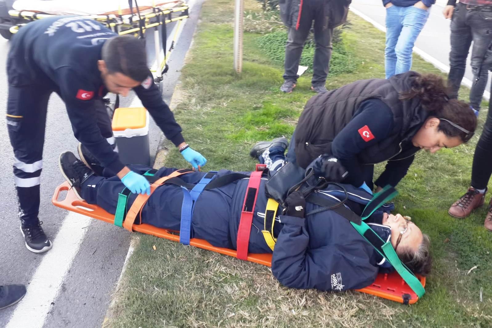 bodrum asayiş Bodrum'da meydana gelen zincirleme kazada bir kişi yaralandı… bodrum trafik kazasi 3