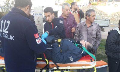 bodrum asayiş Bodrum'da meydana gelen zincirleme kazada bir kişi yaralandı… bodrum trafik kazasi 4 400x240