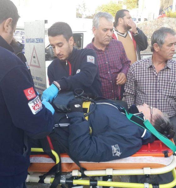bodrum asayiş Bodrum'da meydana gelen zincirleme kazada bir kişi yaralandı… bodrum trafik kazasi 4 560x600