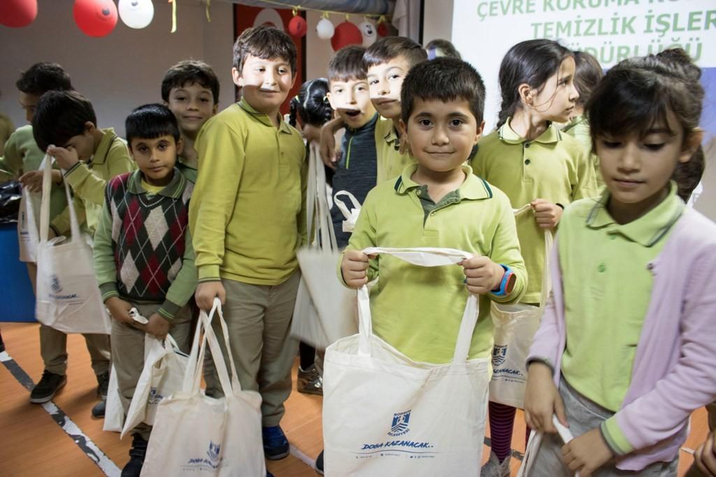 bodrum belediyesi Çevre koruma kontrol ve temizlik İşleri müdürlüğü Çocuklara çevre bilinci aşılanıyor… cevre bilinci egitimi 2