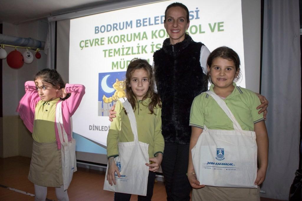 bodrum belediyesi Çevre koruma kontrol ve temizlik İşleri müdürlüğü Çocuklara çevre bilinci aşılanıyor… cevre bilinci egitimi 3