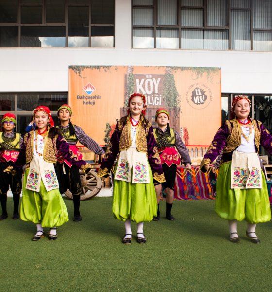 bodrum bahçeşehir koleji Bahçeşehir Koleji, Köy Şenliği'yle 'El Verdi' koy senligi 1 560x600