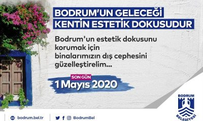 bodrum kent estetiği Bodrum'da binaların dış cepheleri güzelleşecek… bina d  s cephe 400x240