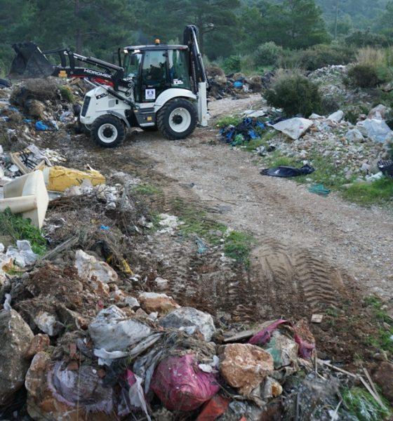 temizlik İşleri müdürlüğü Doğaya 65 ton atık bıraktılar… bodrum belediyesi temizlik 1 560x600