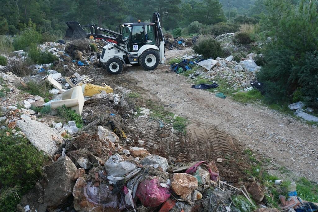 temizlik İşleri müdürlüğü Doğaya 65 ton atık bıraktılar… bodrum belediyesi temizlik 1