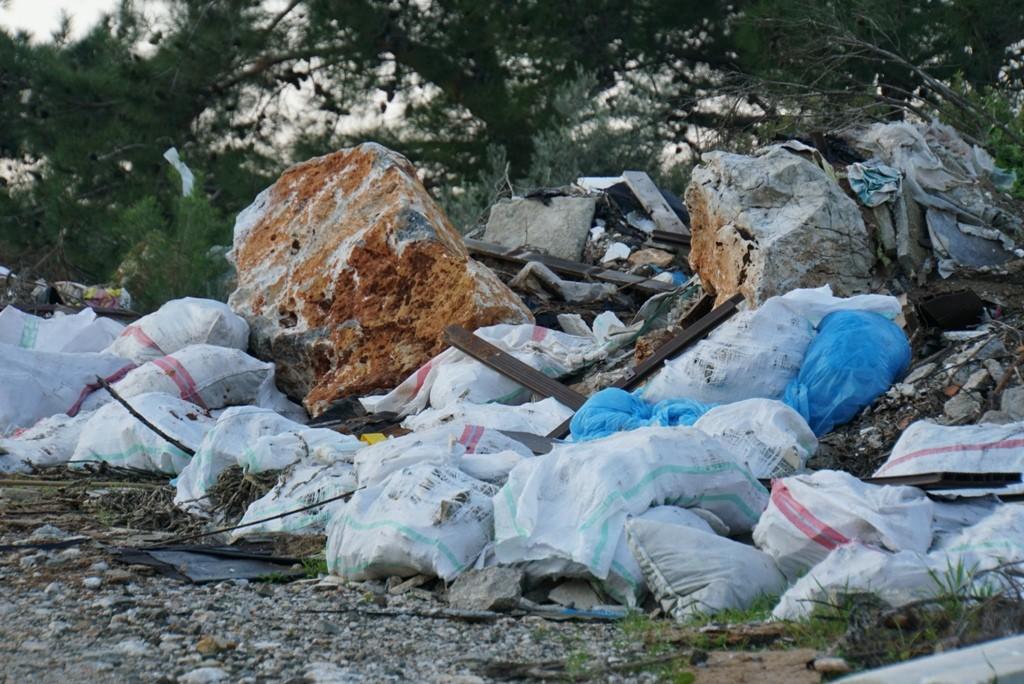 temizlik İşleri müdürlüğü Doğaya 65 ton atık bıraktılar… bodrum belediyesi temizlik 2