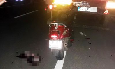 TIR'ın durduğunu fark etmeyince ağır yaralandı… bodrum kaza 400x240