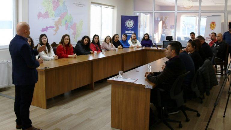 Bodrum çağrı merkezine personeline eğitim…